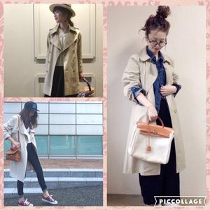 2016トレンドファッション,トレンチコート,nikihair,浜松市東区子安町