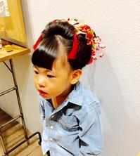 静岡浜松ヘアセットにきへあーnikihairlilicafe3才3歳3さいのサムネイル画像